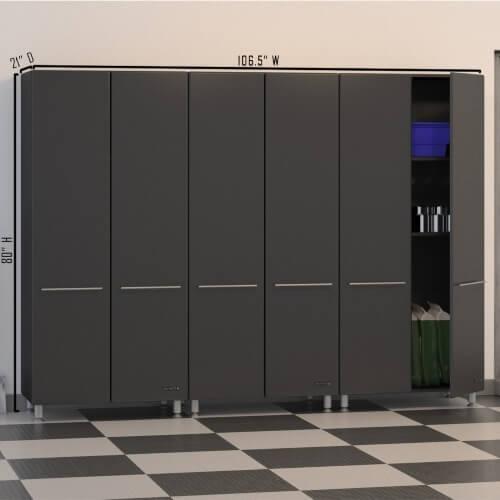 Ulti Mate Mdf Garage Storage Cabinets Garageflooringllc Com