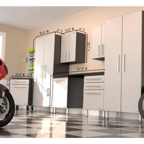 GA 80KPC Ulti MATE Garage PRO   8 Piece Deluxe Cabinet Kit