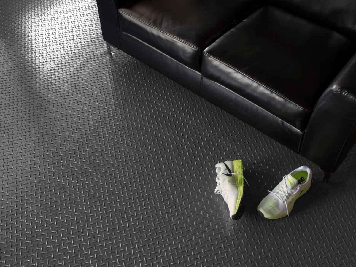 BLT Diamond Tread Garage Floor Mats #3