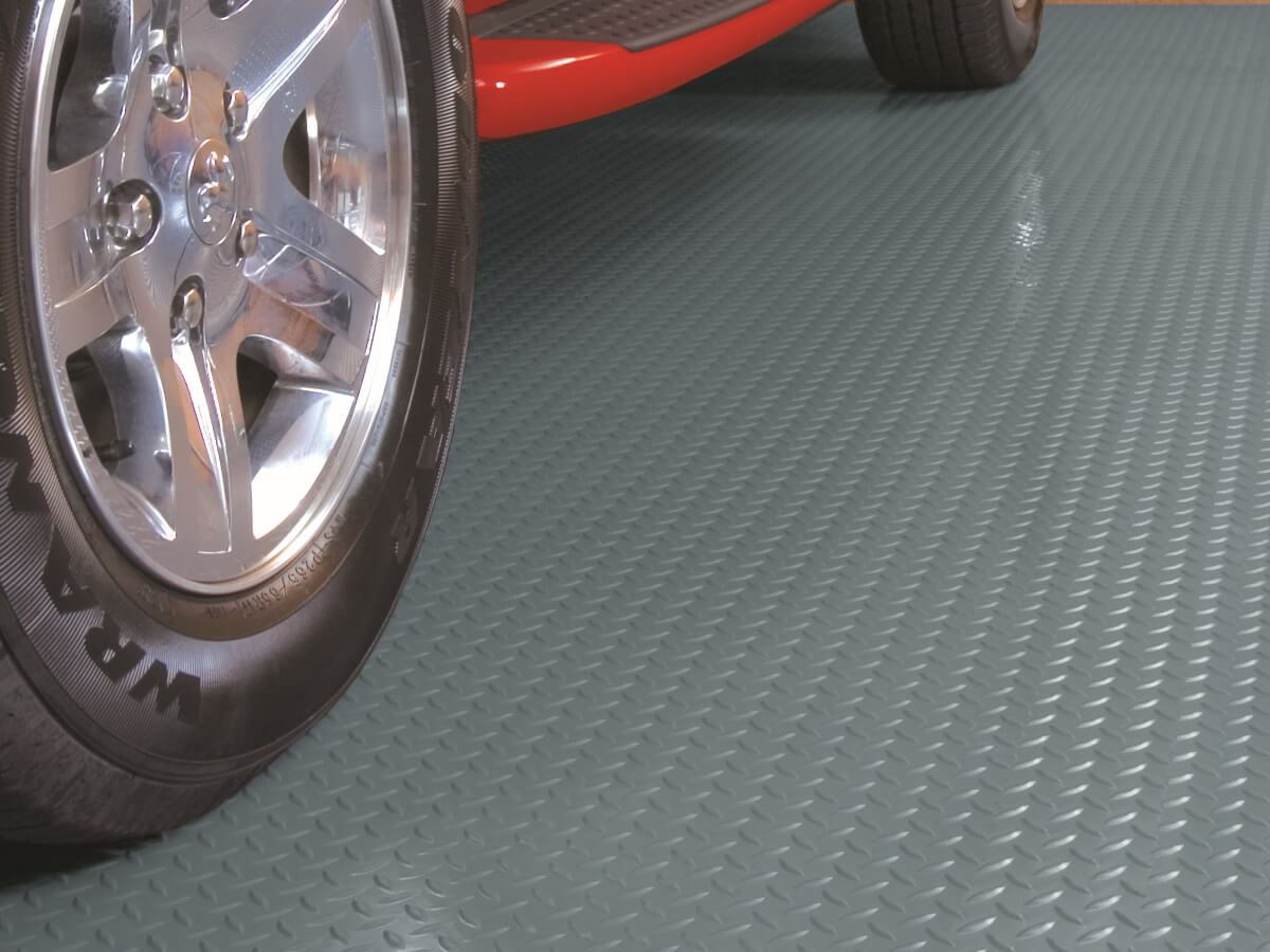 BLT Diamond Tread Garage Floor Mats #5