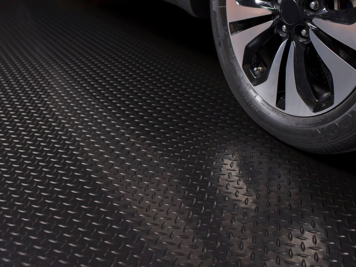 BLT Diamond Tread Garage Floor Mats #11