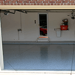 Garage Floor Epoxy Kits Gray with System 5 Flakes
