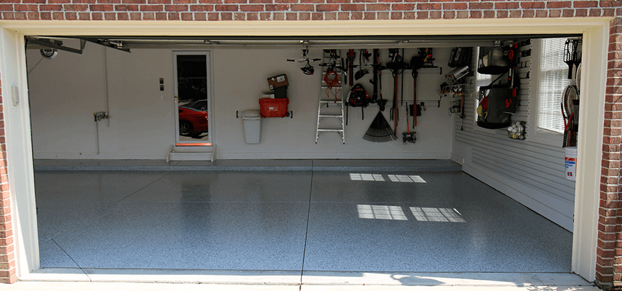 Garage floor epoxy kits garageflooringllc garage floor epoxy kits gray with system 5 flakes solutioingenieria Images