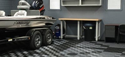 Garage Floor TIles Mancave