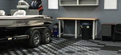 Garage Floor TIles Mancave