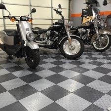 HD Diamond Garage Floor Tiles