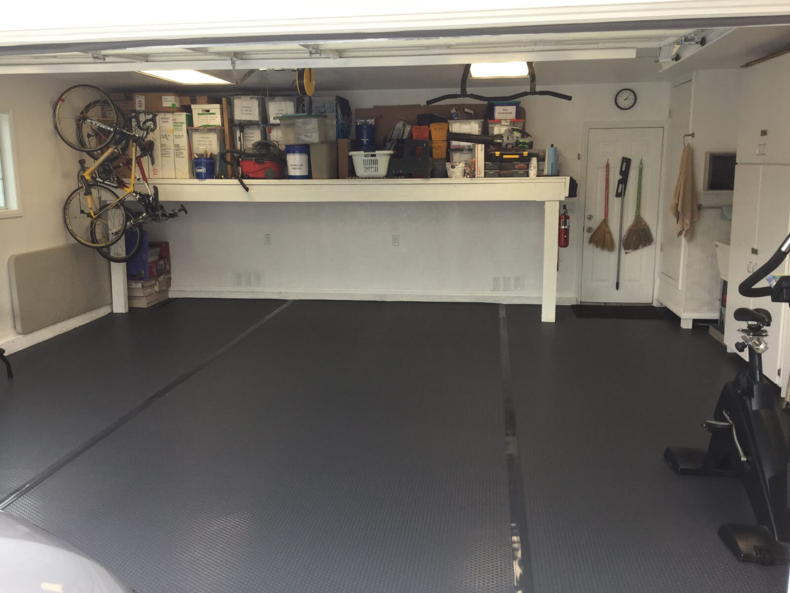 coating concrete sealers door featuring work g and designs floors horizontal by garage coatings jon painting in poly after our installed floor kelly contractors