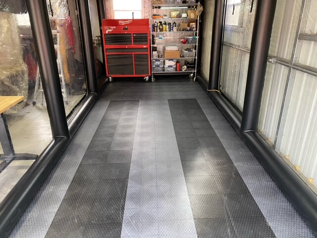 TrueLock HDXT Gray and Black Tiles
