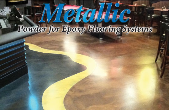 Metallic Epoxy Floor Systems