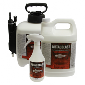 Metal Blast for Concrete Prep