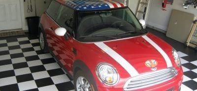 Garage floor tile for shop flooring before and after for American garage floor