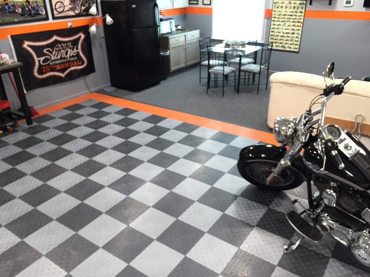 Product Review Garage Flooring LLC Plastic Garage Floor Tiles