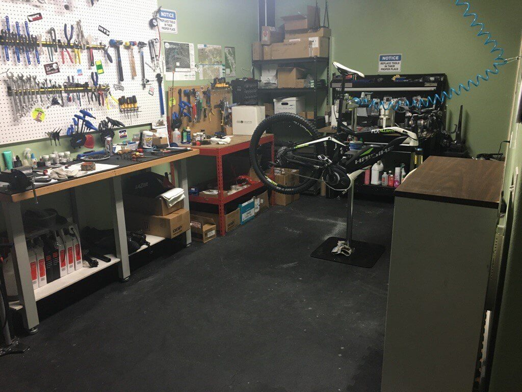 Bike Shop Rubber Flooring Colorado Ebikes