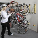 steady rack storing your bike
