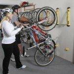 steady rack storing your bike