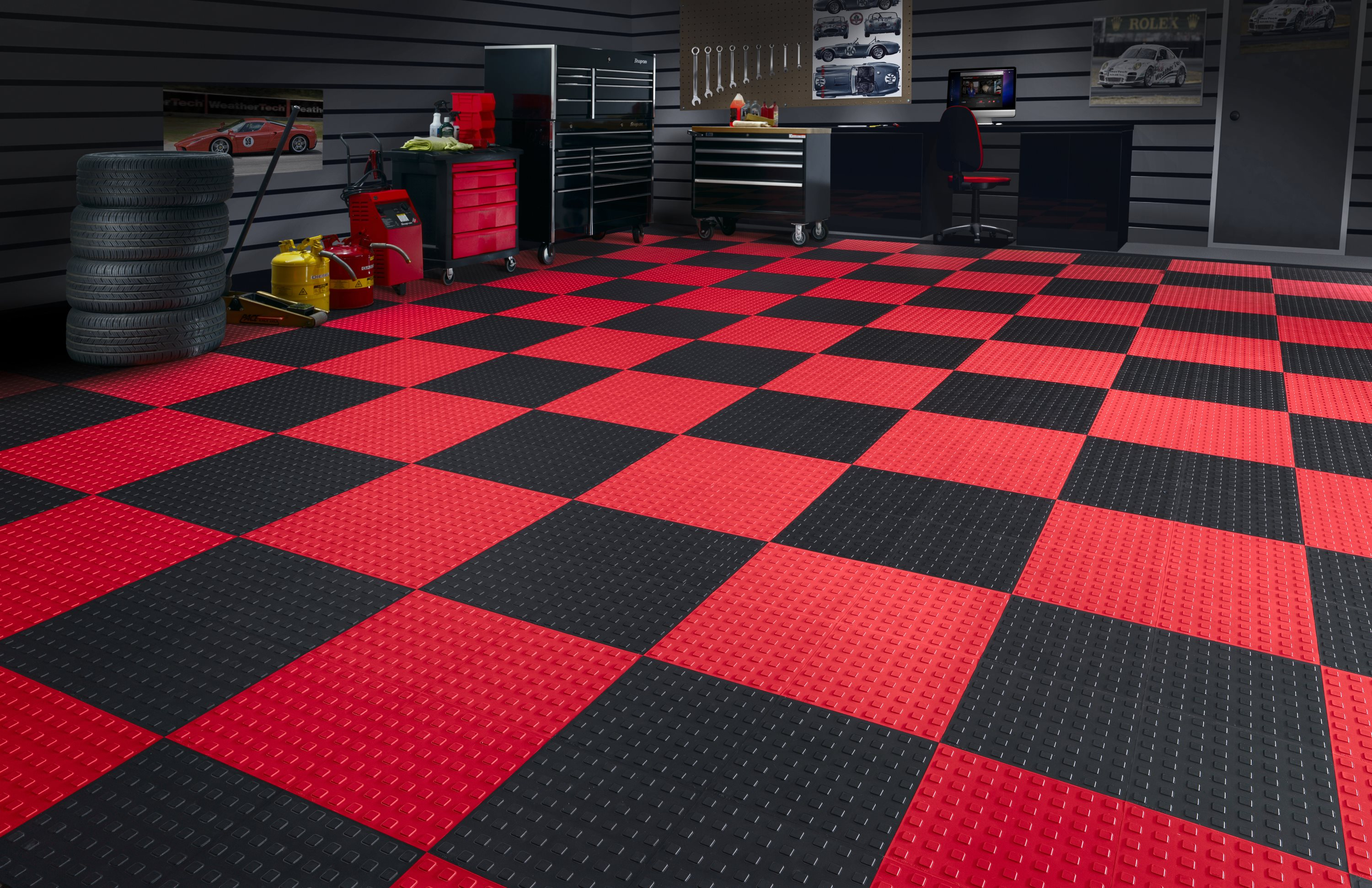 Faq garage floor tiles garage flooring llc for Which floor or what floor