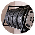 Car Tire Storage