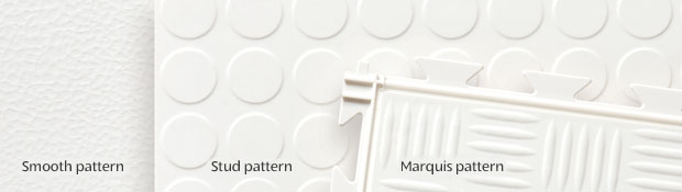 Tuff Seal PVC Garage Tile Patterns