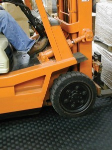 Tuff Seal Forklift Tough Industrial PVC Tile