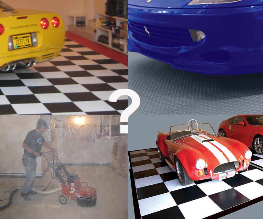 Types of Garage Flooring